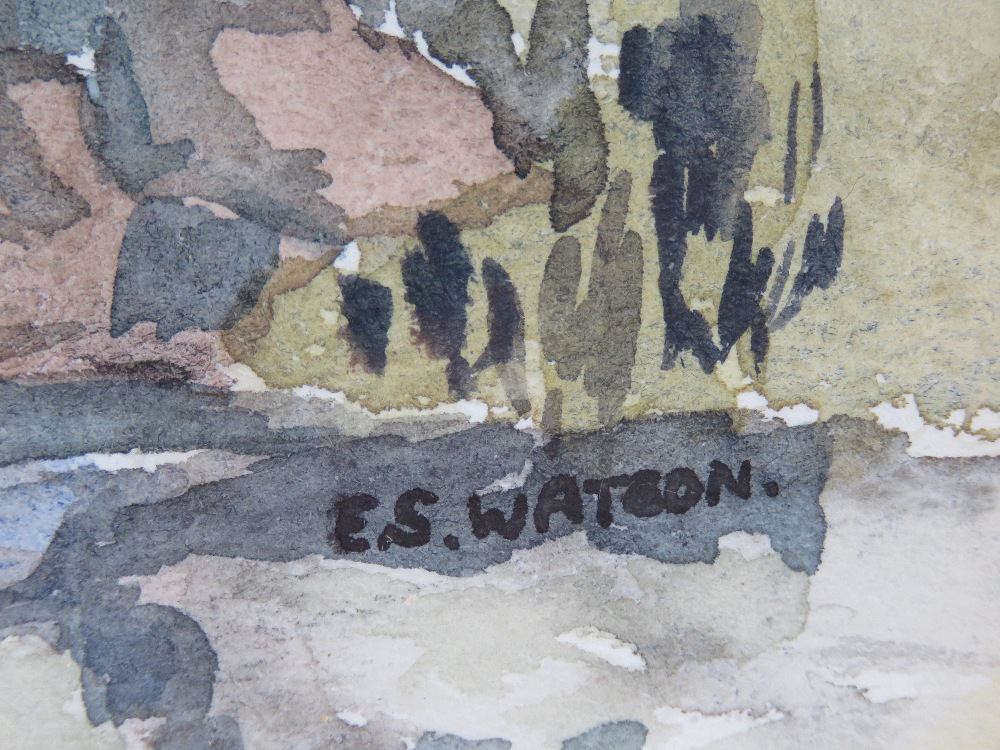 Watercolour by Eve Watson 'Pack horse br - Image 3 of 4