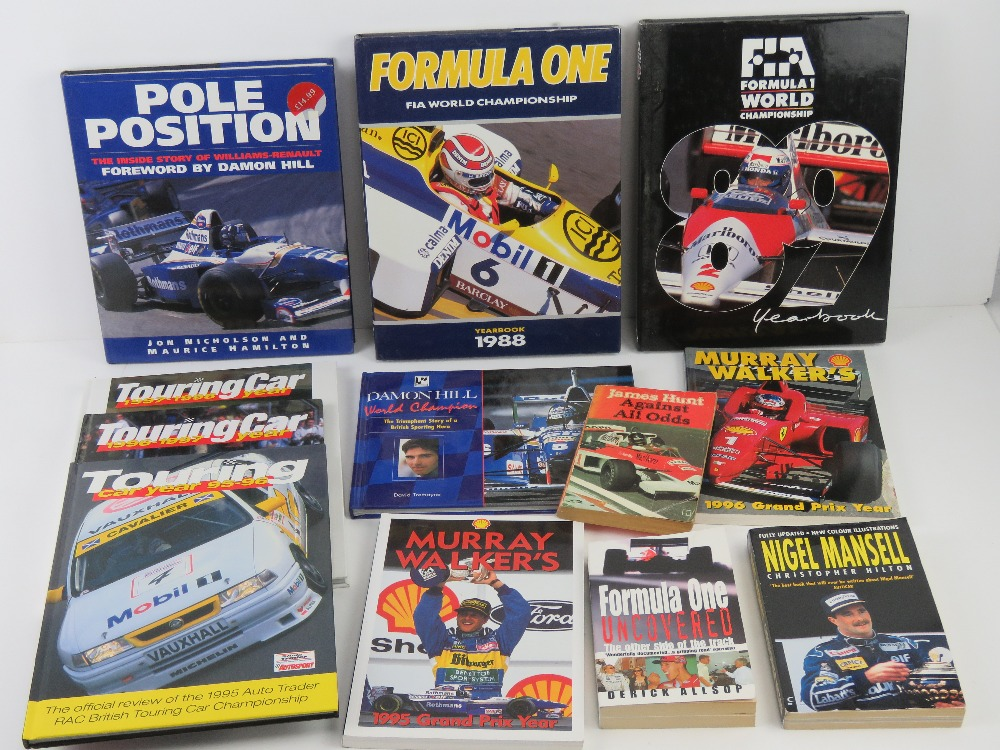 A quantity of assorted F1 and other raci