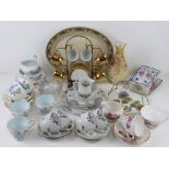 A quantity of assorted ceramics includin