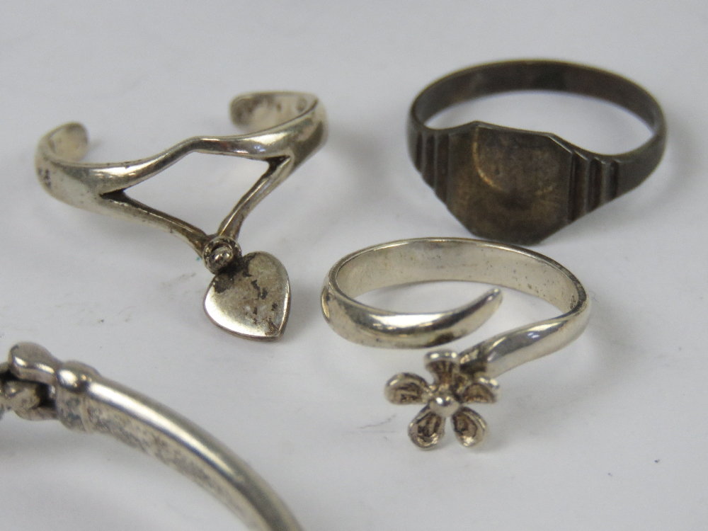 Silver and white metal jewellery includi - Image 3 of 6