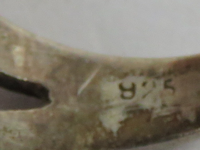 A HM silver ring having inscription thro - Image 2 of 4