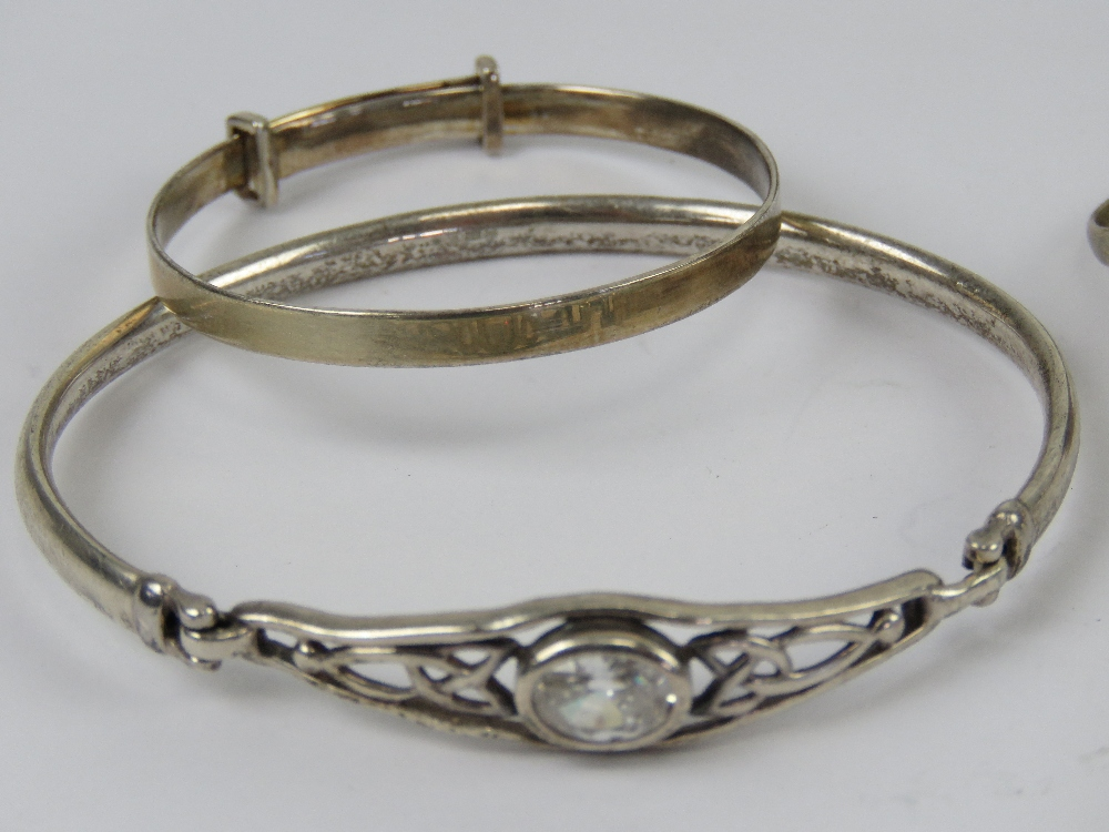 Silver and white metal jewellery includi - Image 4 of 6