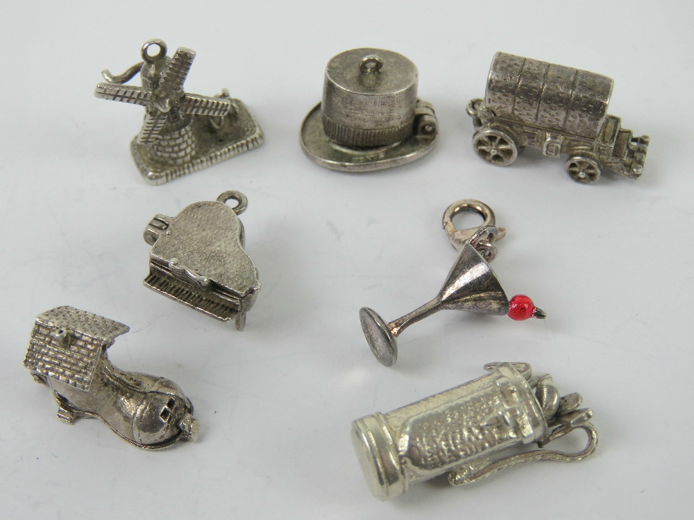 A delightful 925 silver charm in the for