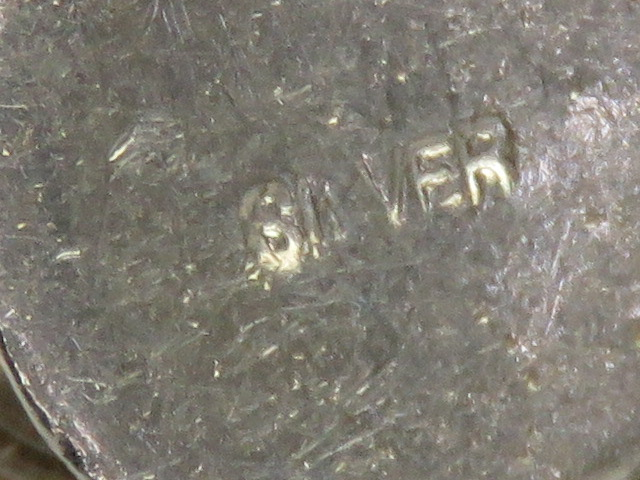 A large silver charm or pendant in the f - Image 3 of 3