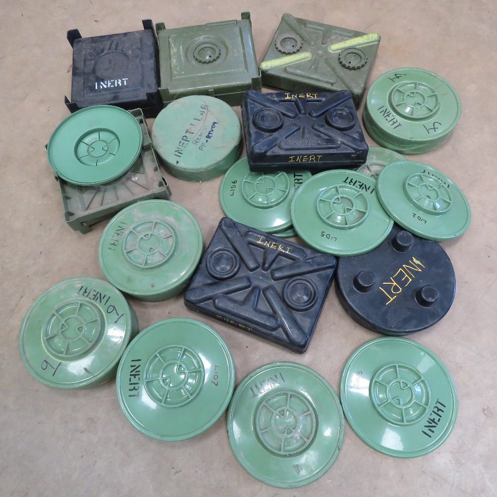 A quantity of inert training mines and spare parts, inc; TMA-4, VTMA-2, VTMA-5, TMA-5,