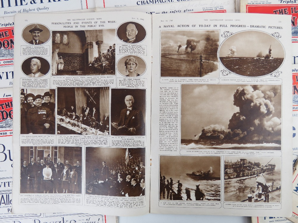Ten editions of The Illustrated London News, c1933 to 1944. - Image 3 of 3