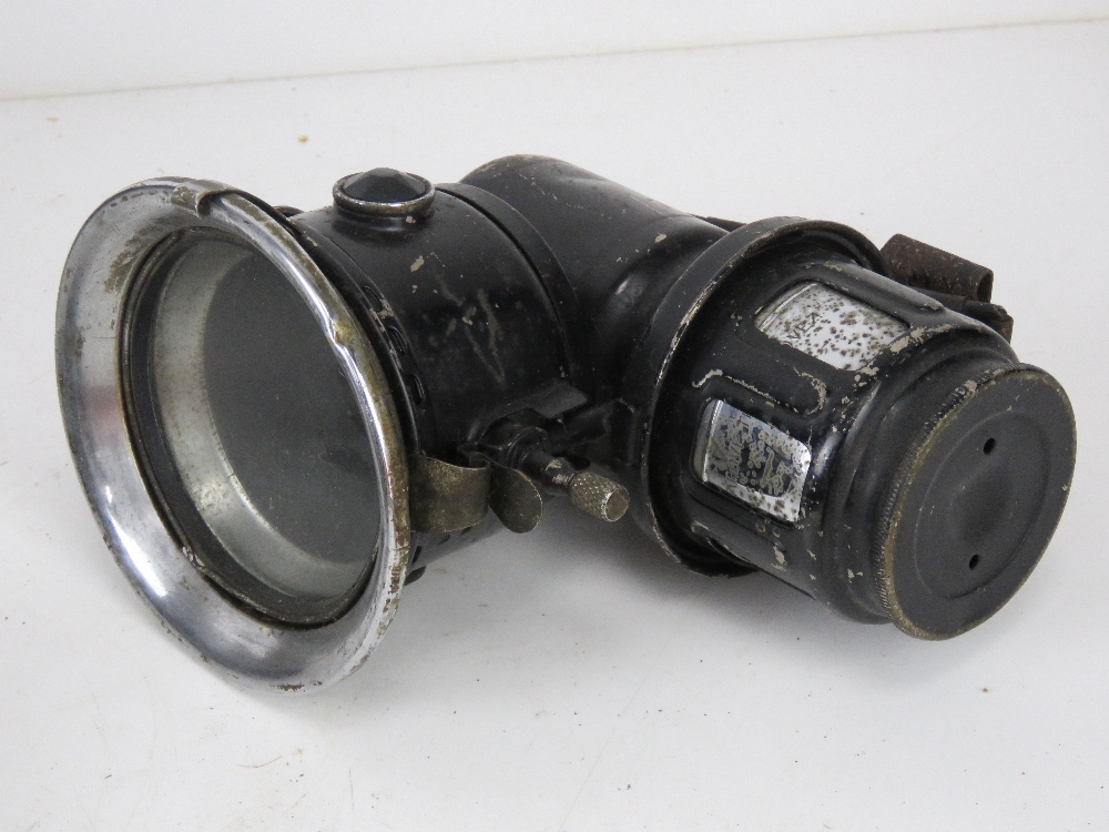 A large quantity of assorted lamps and torches inc bike lamps, Air Ministry signal lamp, - Image 12 of 19