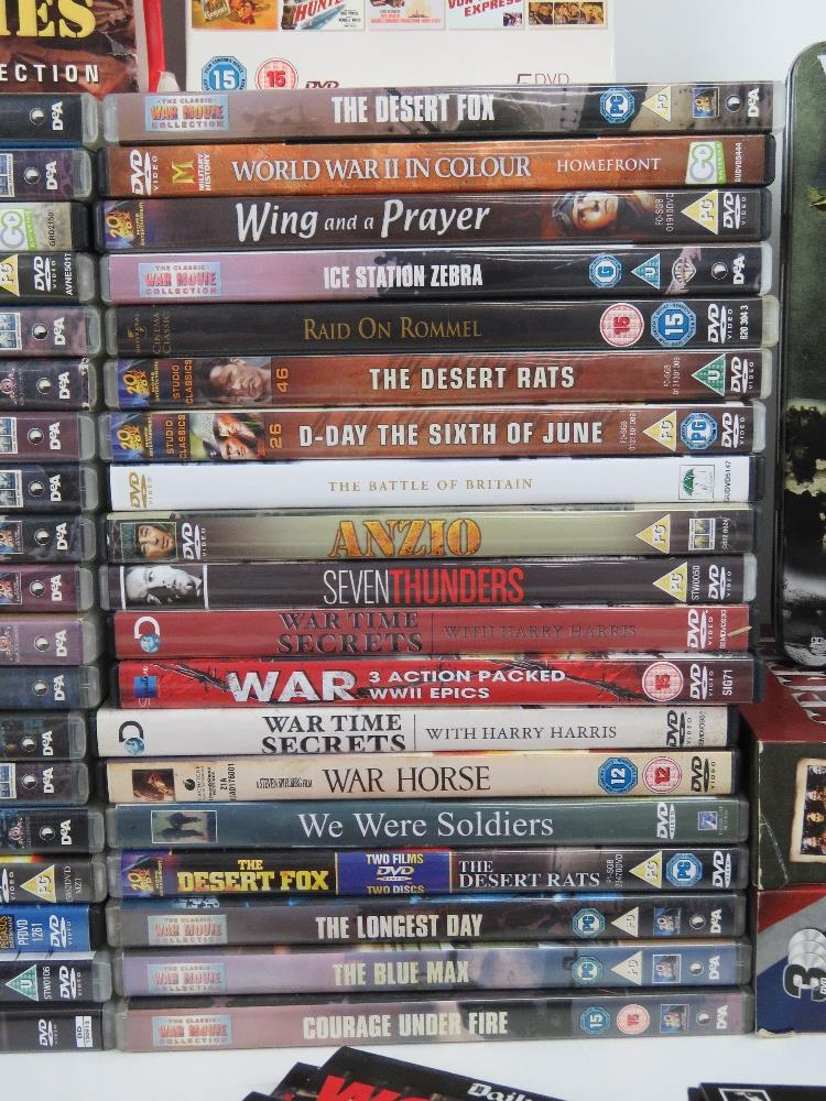 A quantity of Military / War themed dvds. - Image 3 of 9