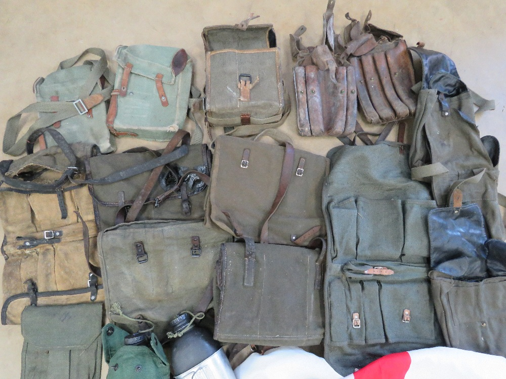 A quantity of assorted militaria, RPG pouches, PPS 43 magazine pouch, ZB26 magazine pouch, - Image 2 of 4