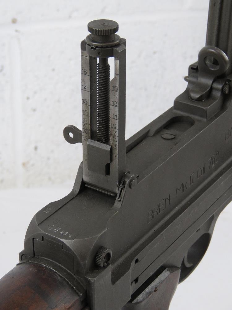 A rare Italian Breda Bren gun set having all matching numbers; a deactivated Italian Breda Bren . - Image 8 of 10