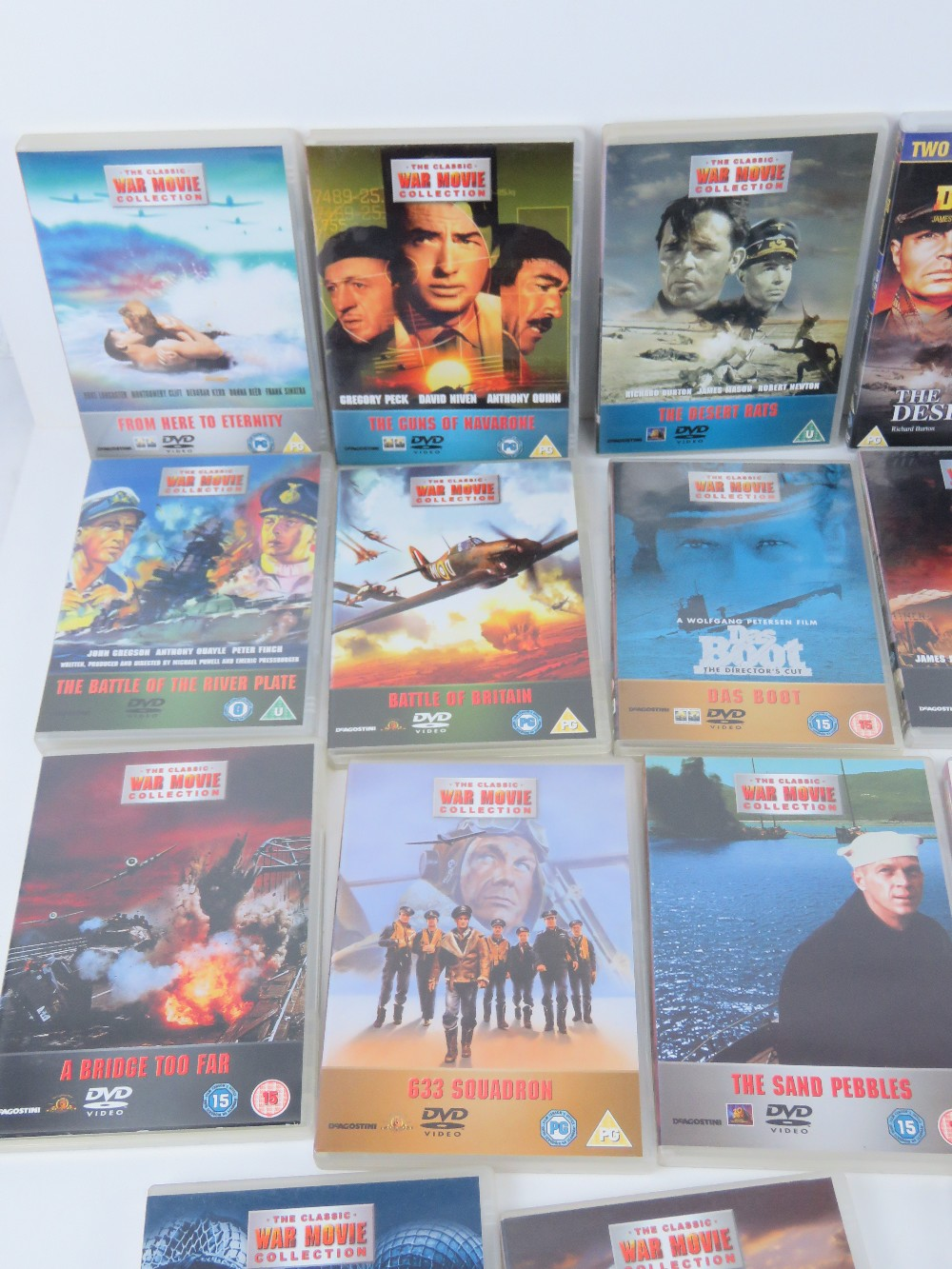 A quantity of Military / War themed dvds. - Image 5 of 9
