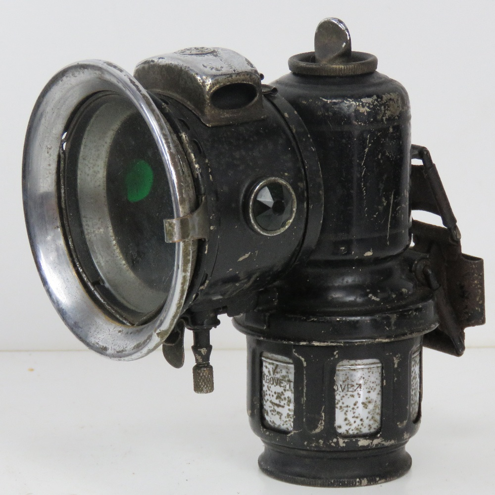 A large quantity of assorted lamps and torches inc bike lamps, Air Ministry signal lamp, - Image 10 of 19