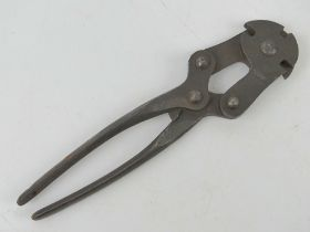 A pair of WWII British Military wire cutters having broad arrow upon and marked Washe & James