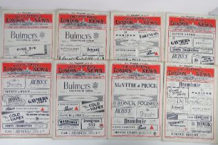 Ten editions of The Illustrated London News, c1944 to 1945.