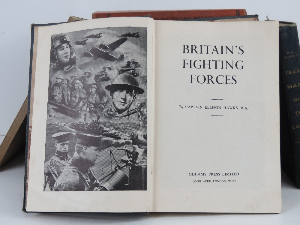 A quantity of assorted military themed books inc: 'Jan Christian Smuts', 'The March of History', - Image 4 of 4