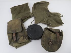 A near complete WWII Russian uniform including rare white,
