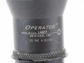 A Surefire MP5 torch, made by Lazer Devices Inc USA.