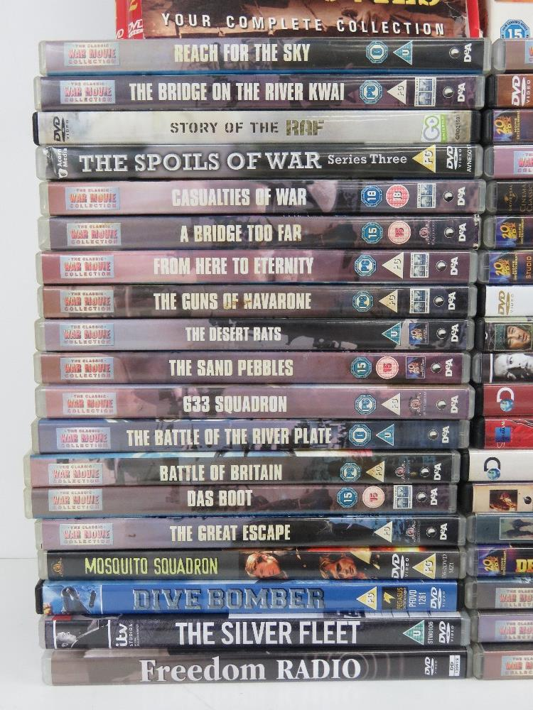 A quantity of Military / War themed dvds. - Image 2 of 9