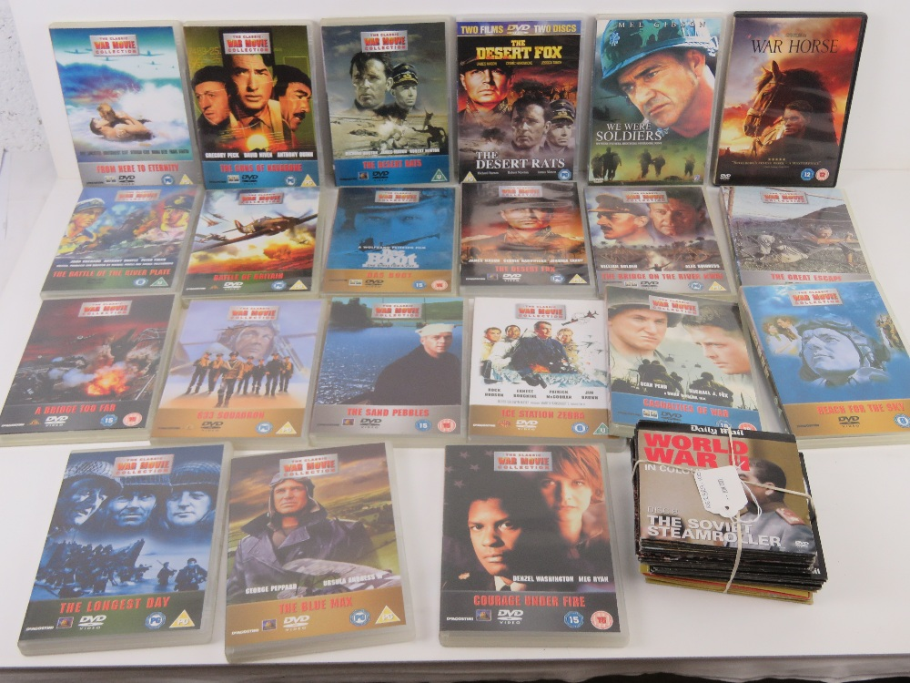 A quantity of Military / War themed dvds. - Image 4 of 9