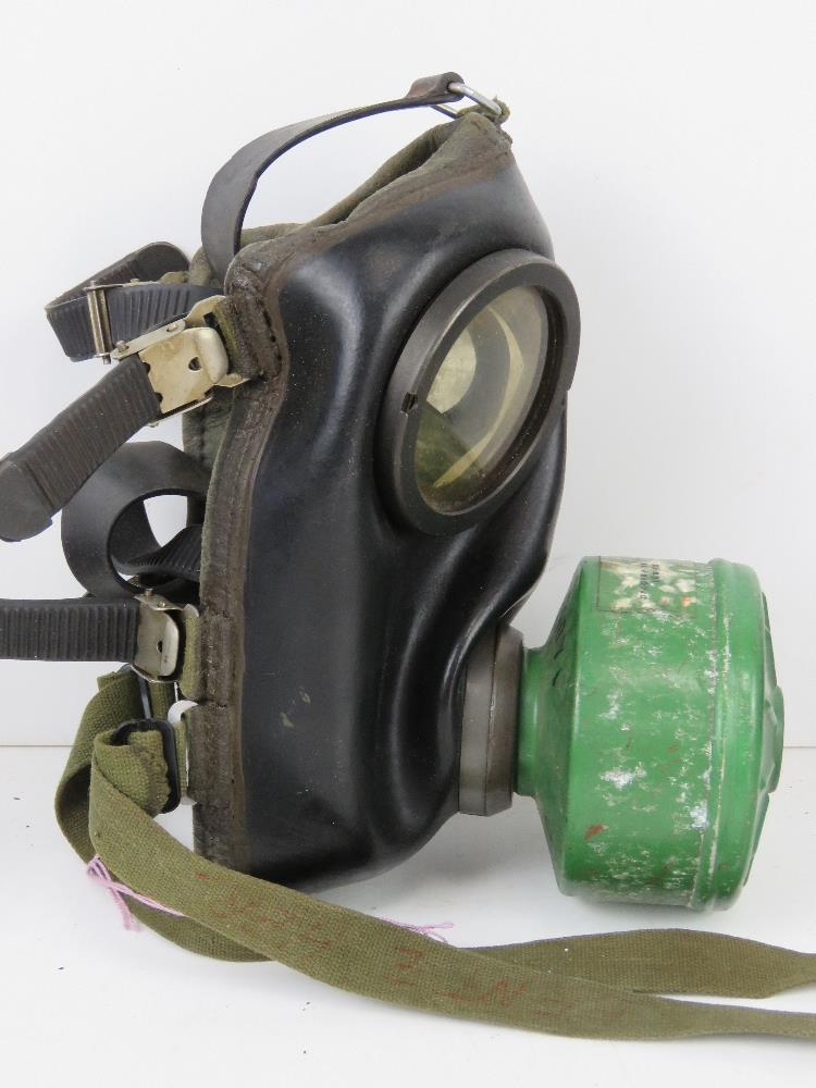 Three German Bundeswehr Draeger/CTG-RA gas masks with filters in carry cases. - Image 5 of 5