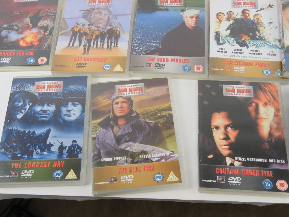 A quantity of Military / War themed dvds. - Image 7 of 9