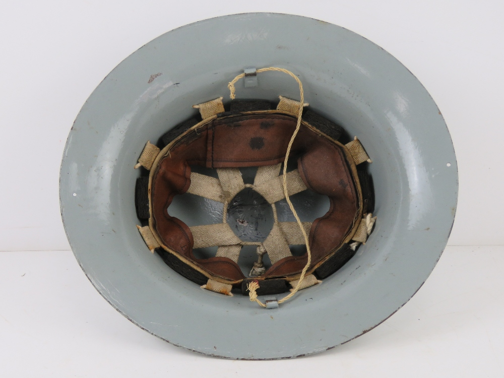 A ladies AFS helmet in grey paint with liner. - Image 4 of 7