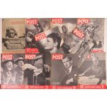 A quantity of 1939-1945 editions of Picture Post. Nine items.