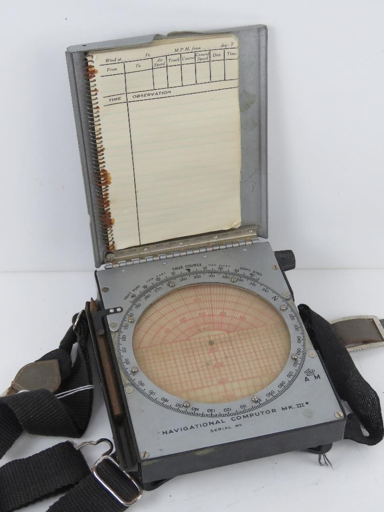A WWII British navigational computor Mark III in original packaging. - Image 4 of 7