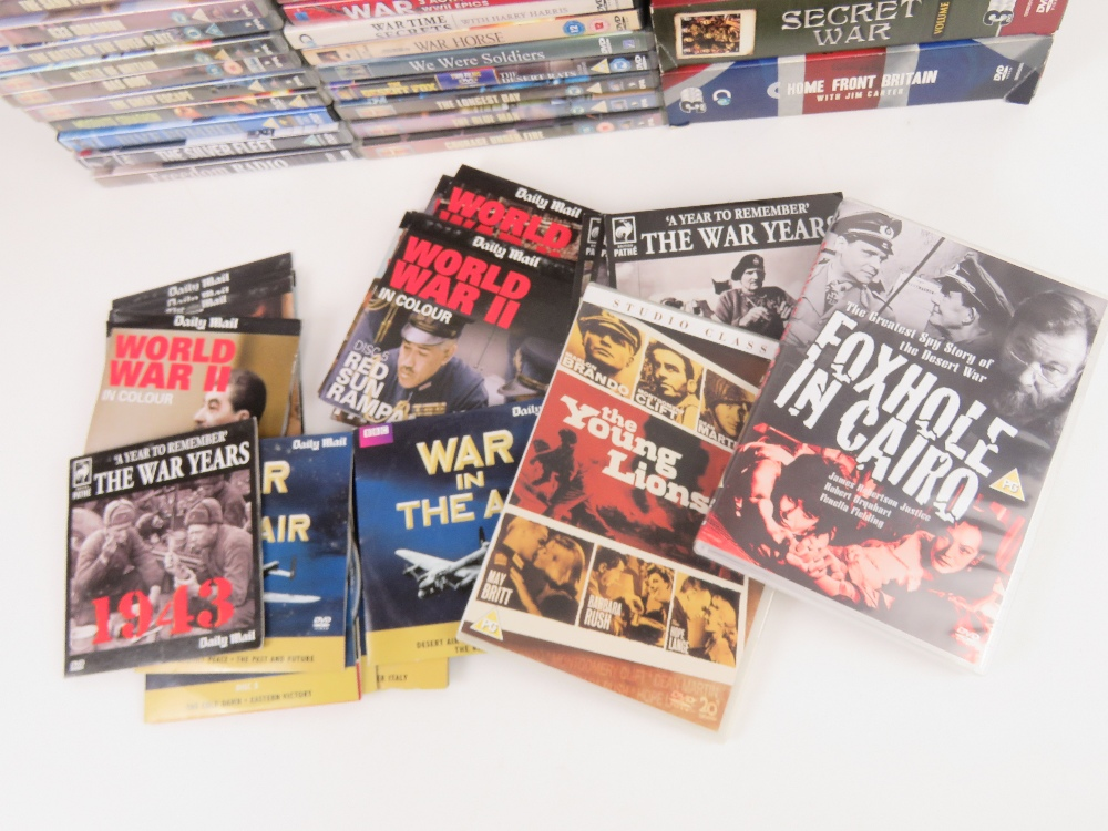 A quantity of Military / War themed dvds. - Image 8 of 9