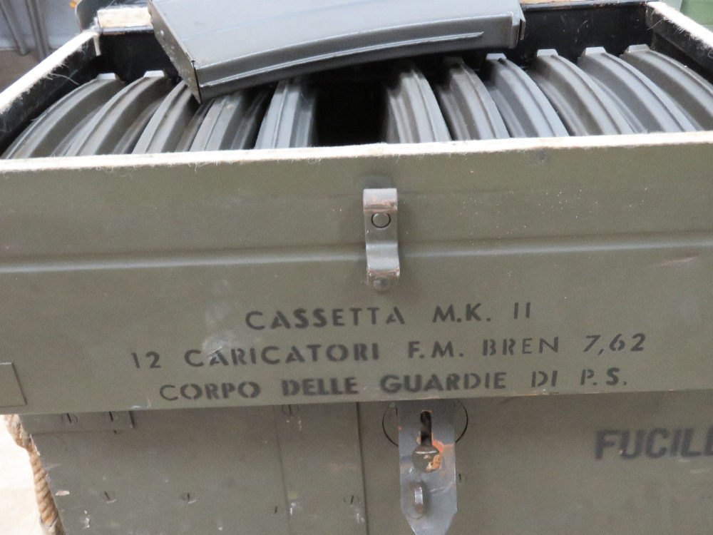 A rare Italian Breda Bren gun set having all matching numbers; a deactivated Italian Breda Bren . - Image 10 of 10