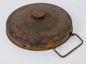An inert WWII German Afrika Korp Tellerm