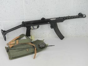 A deactivated Polish PPS-43 7.62mm sub m