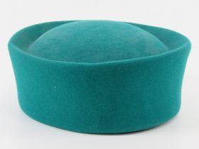 A green 100% wool felt hat by Kangol, ap