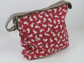 An 'as new' fabric tote bag having rabbi