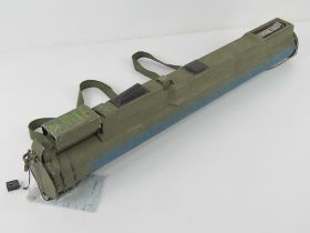 A deactivated M72 LAW Rocket Launcher 21mm Sub Munition Trainer. With certificate.