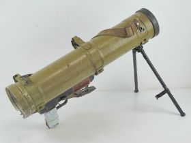 A rare deactivated Polish RPO 40mm launcher, with certificate.