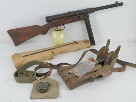 A deactivated WWII Beretta Mod.