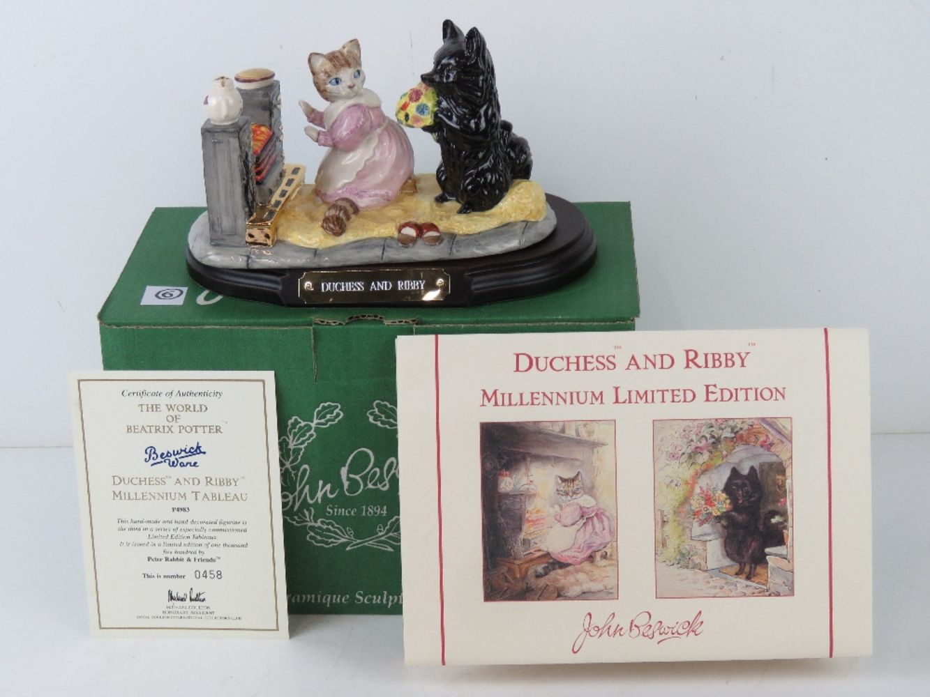 Timed Online Only Auction of Beatrix Potter Ceramics; Beswick, Royal Doulton, Royal Albert etc