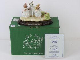Royal Doulton Beswick Ware, Beatrix Potter; 'Mittens, Tom Kitten and Moppet',