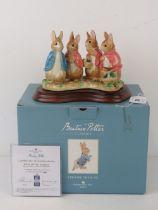 Border Fine Arts Beatrix Potter; 'Four L