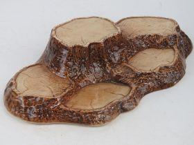 A Beswick 'Tree Stumps' stand pattern no