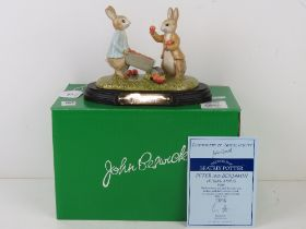 Royal Doulton Beswick Beatrix Potter; 'P