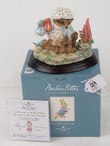 Border Fine Arts, Beatrix Potter; 'The T