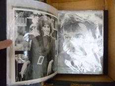 A LARGE COLLECTION OF AUTOGRAPHED SIGNED PHOTOGRAPHS, TO INCLUDE IAN OGILVY, BERNIE MARSDEN, IAN