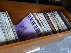 A QUANTITY OF RECORD ALBUMS PRINCIPALLY CLASSICAL AND COUNTRY.