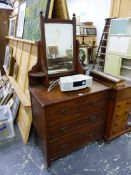 A HEAL & SONS LONDON DRESSING CHEST.