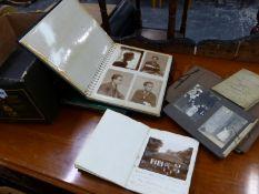 PHOTOGRAPHS AND EPHEMERA OF LEIGHTON LUCAS & FAMILY, FRIENDS, ALBUM OF THE CITY OPERA CLUB,