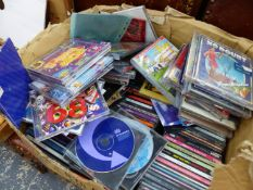 A LARGE QUANTITY OF CD'S, MAINLY 90's