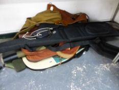 A QUANTITY OF VARIOUS GOOD QUALITY GUN CASES ETC.