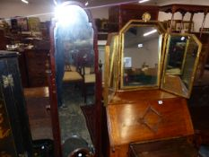 A CHEVAL MIRROR, AND TWO OTHERS.